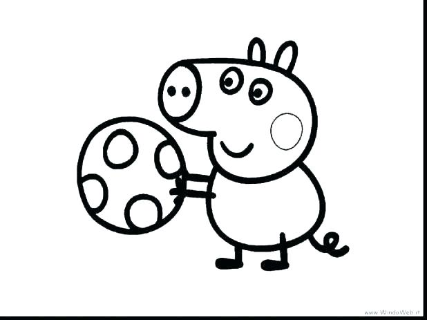 618x463 Pig Coloring Pages For Print And Color Color Happy Pig Coloring