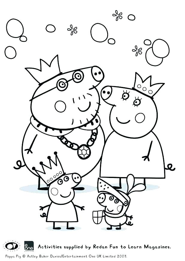 618x874 Pig Coloring Pages To Print Pig Best Pig Coloring Pages Peppa Pig