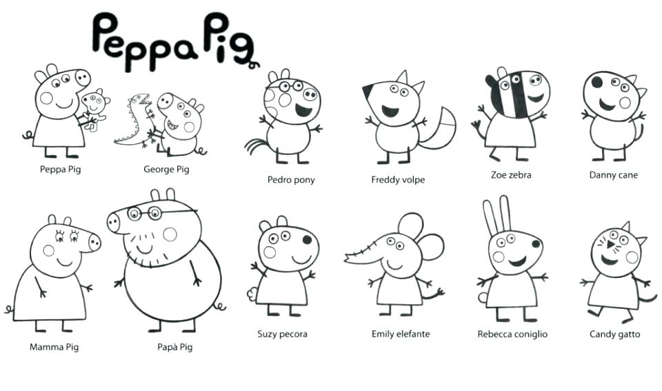960x567 Complete Coloring Pages Pig Crayola Photo The Sun Flower To Peppa