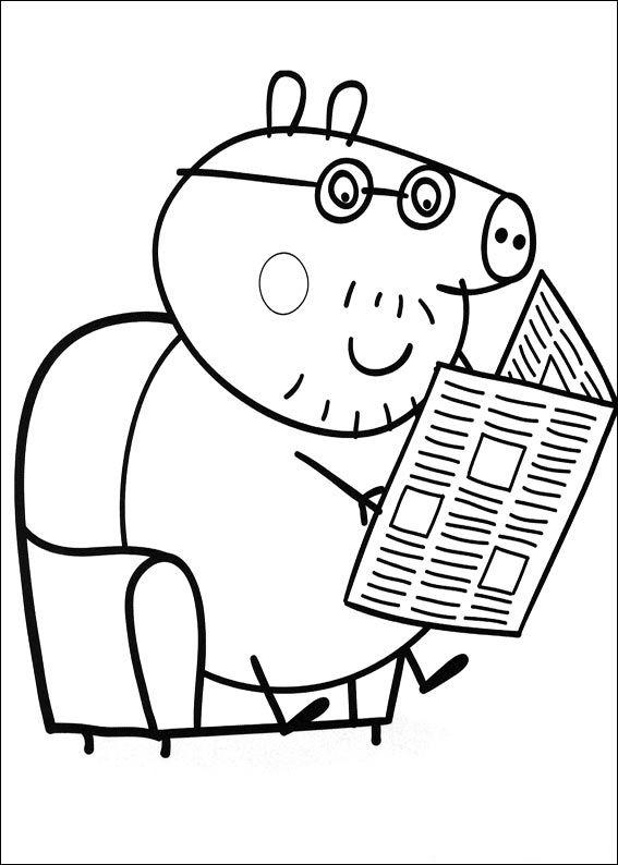 567x794 Peppa Pig Pintar Peppa Pig Birthday Ideas