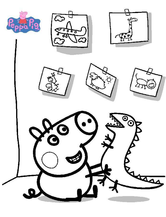 700x915 Kids N Coloring Pages Of Peppa Pig
