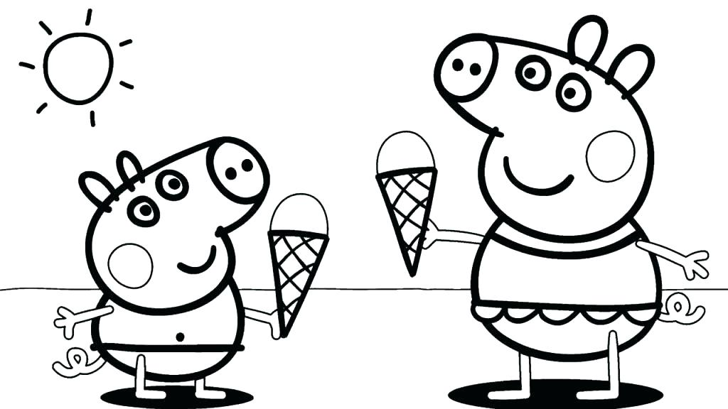 1024x576 Pig Coloring Pages Animals Pig Pig Pig Coloring Pages Animals Pig