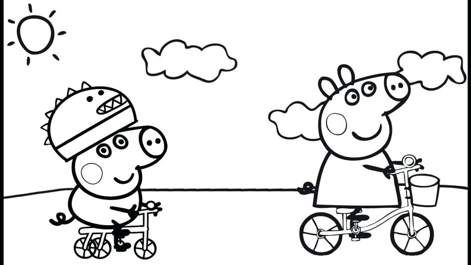 948x533 Peppa Coloring Pages Pig Peppa Pig Coloring Pages Online