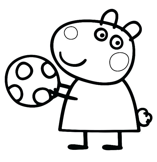620x640 Peppa Pig Coloring Page Pig Coloring Pages And Sheets Peppa Pig