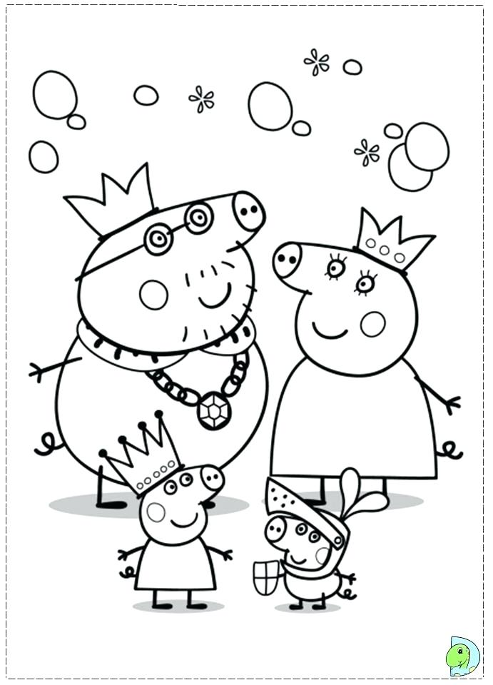 691x960 Peppa Pig Coloring Page Colouring Pages Pig Peppa Pig Colouring
