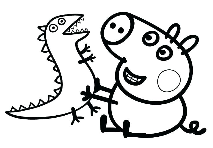 736x512 Peppa Pig Coloring Pages Pdf Pig Coloring Pages Peppa Pig