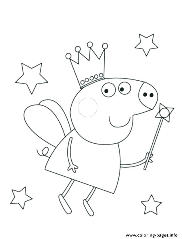 Peppa Pig Coloring Pages Pdf At Getdrawings Free Download