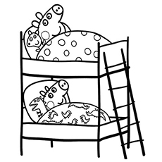 Peppa Pig Coloring Pages Pdf At Getdrawings Com Free For Personal