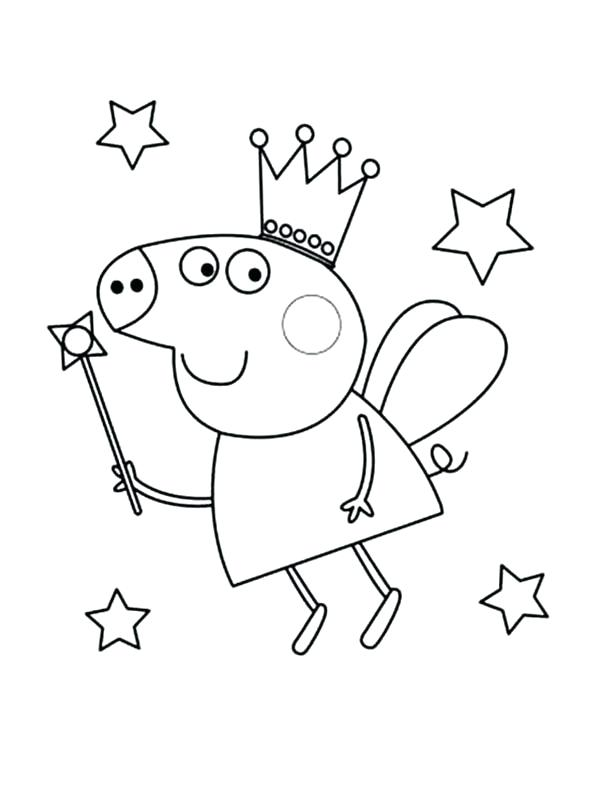 600x804 Peppa Pig Coloring Game Pig Coloring Pages Photo Peppa Pig