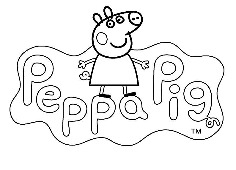 Peppa Pig George Coloring Pages At Getdrawings Free Download