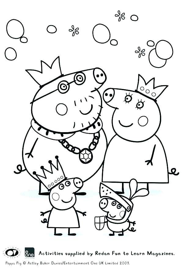 618x874 Peppa Pig Coloring Sheets As Well As Fairy Pig Coloring In Pages