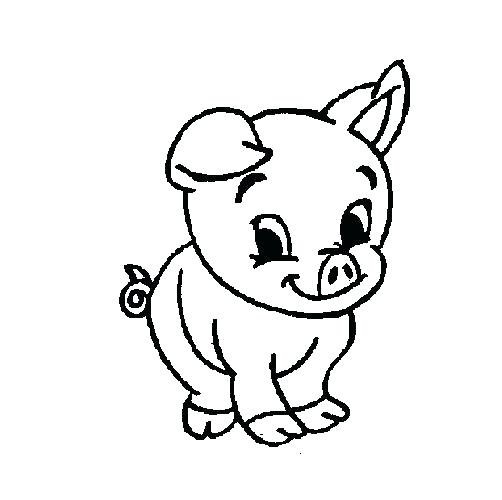 502x500 Peppa Pig Printable Coloring Pages Pig Colouring Pages Games Pig