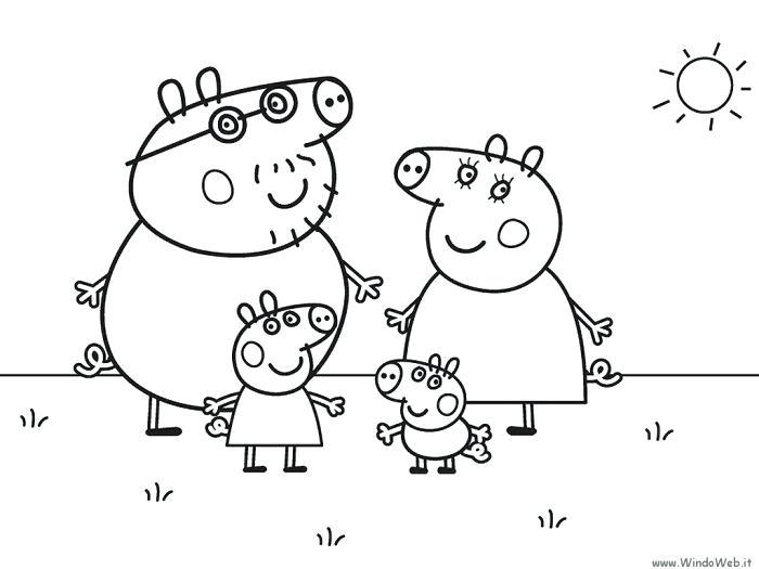 700x525 Peppa Pig Printable Coloring Pages Pig Printable Pig Printable