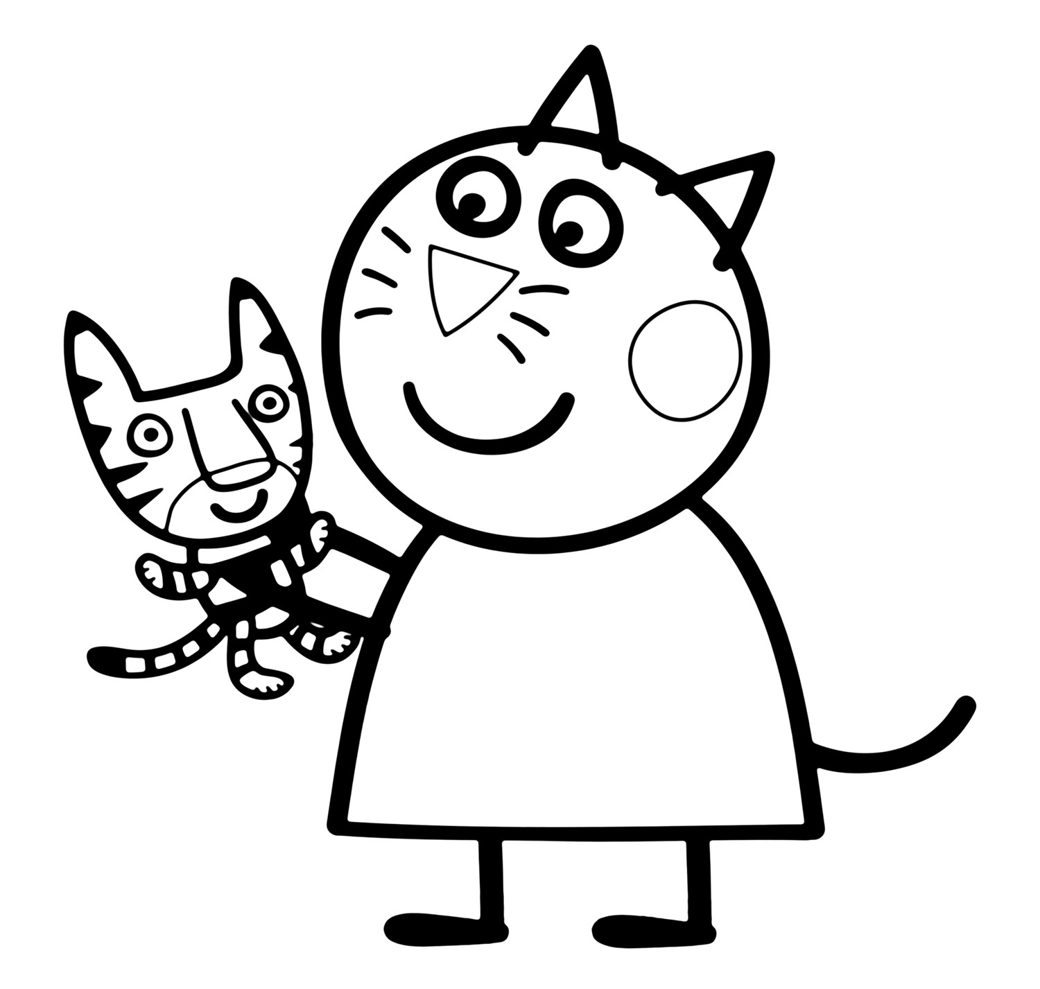 1500x1427 Peppa Pig Valentines Coloring Pages Best Of Peppa Pig Coloring