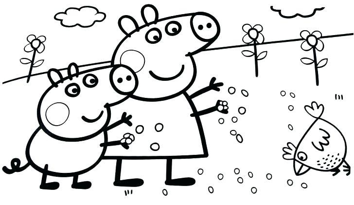 728x421 Pig Printable Coloring Page Kids Coloring Full Pig Coloring Pig