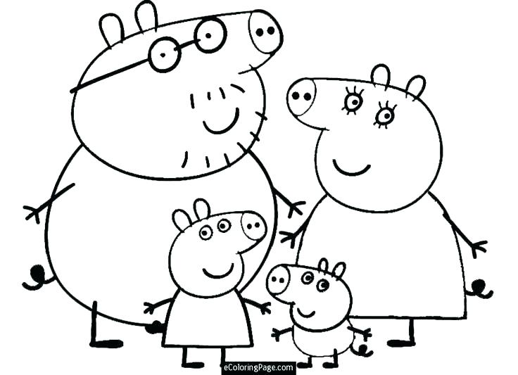 736x533 Pretty Pig Printable Coloring Pages Book Pretty Logo To Color Pig
