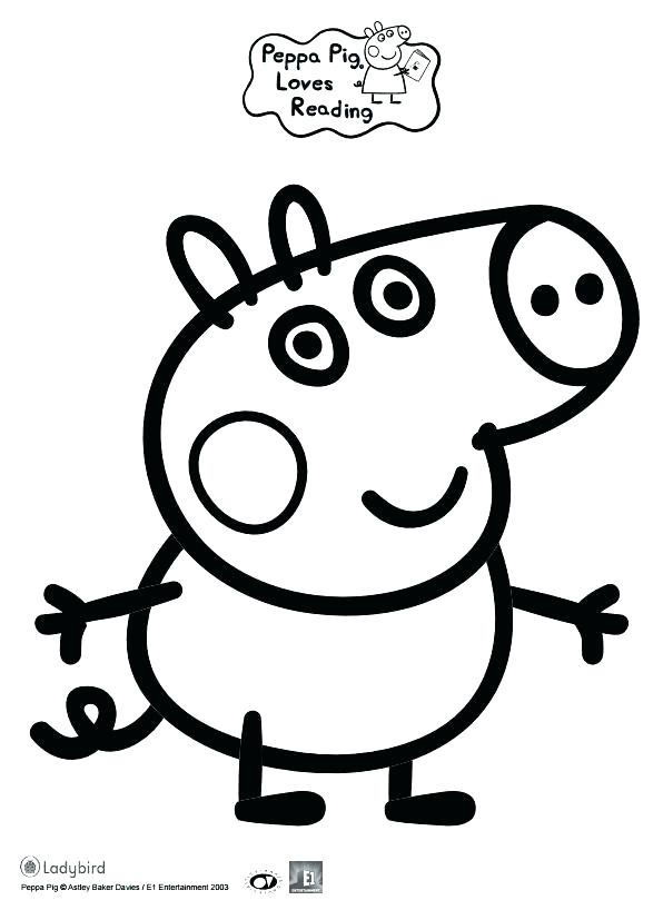 596x818 Three Little Pigs Printable Colouring Pages Pig Coloring Book