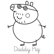 230x230 Top Free Printable Peppa Pig Coloring Pages Online