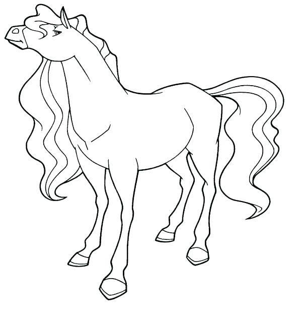608x647 Coloring Pages Bailey Handler And From Horseland Free Printable