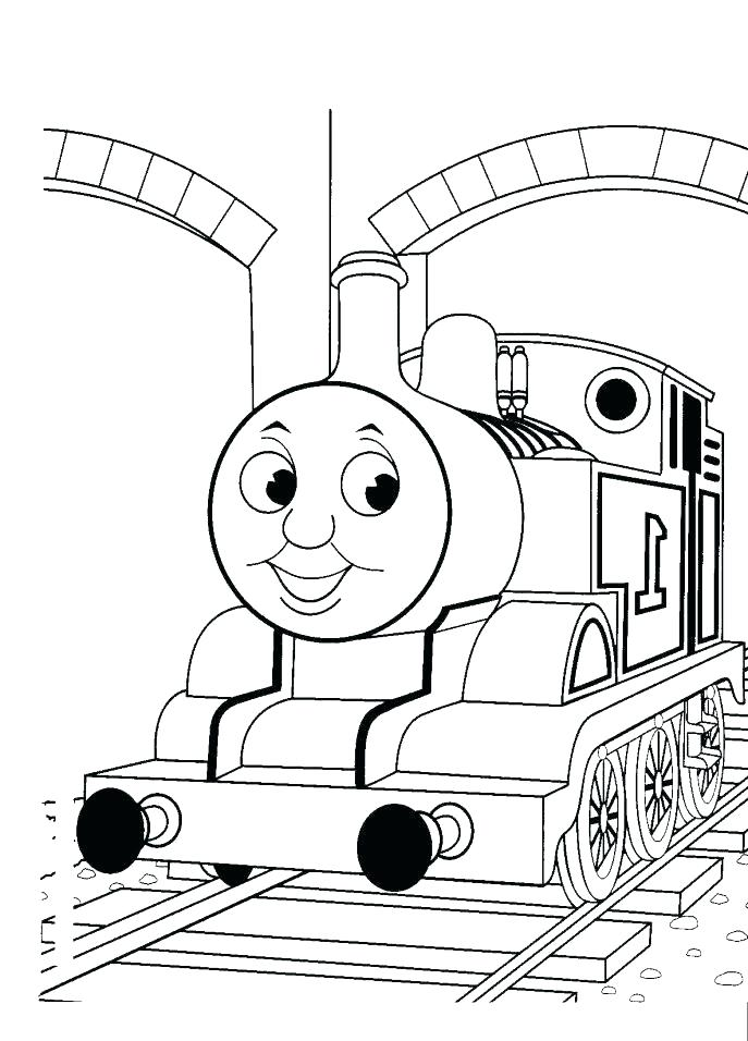 Percy The Train Coloring Pages At Getdrawings Com Free For
