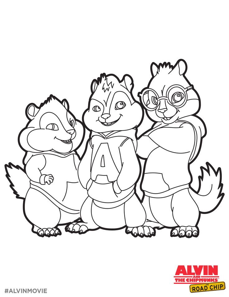 736x952 Best Alvin And The Chipmunks Images On Colouring