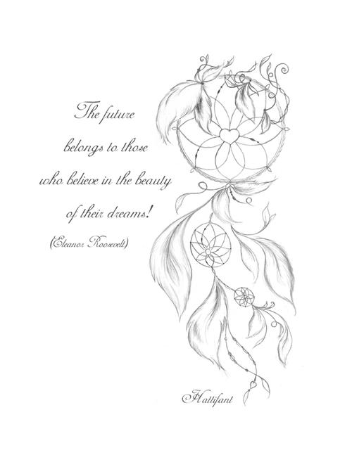 500x647 Dreamcatcher Printable Coloring Page