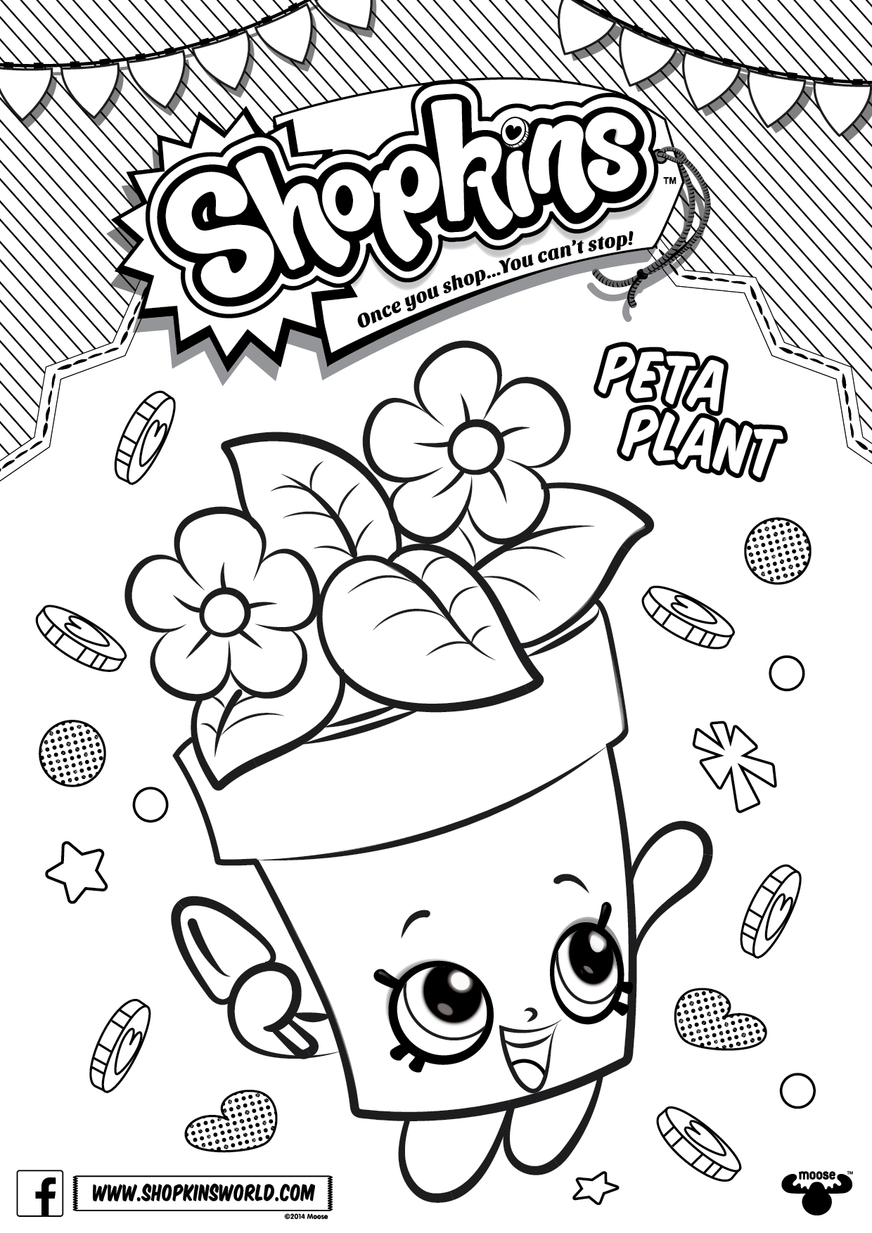1240x1754 Awesome Shopkins Coloring Pages