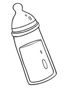 231x300 Bottle Coloring Page