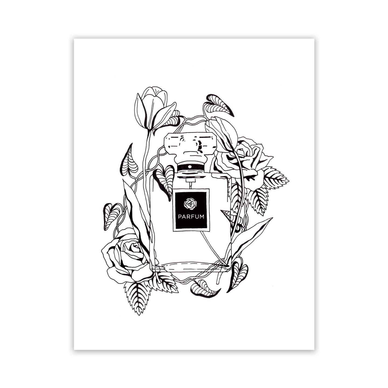 1440x1440 Parfum Et Fleurs Adult Coloring Page The Postman's Knock