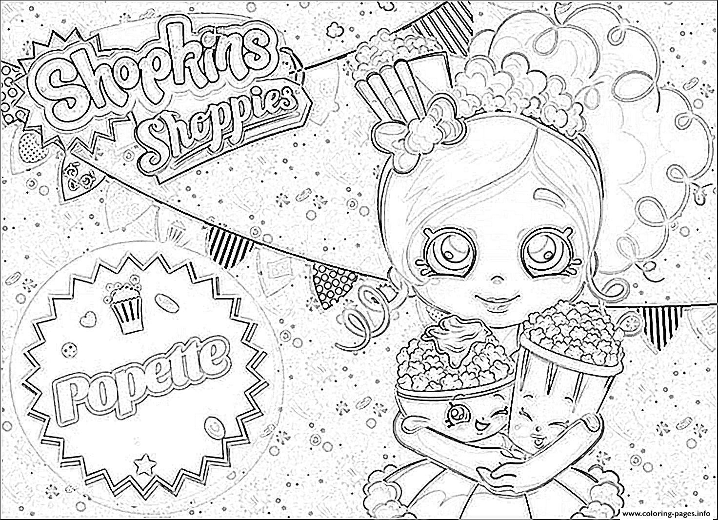 1472x1066 Awesome Shopkins Popette Official Coloring Pages Free Printable