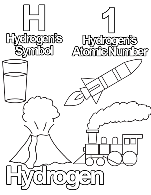 500x647 Free Coloring Pages From The Periodic Table