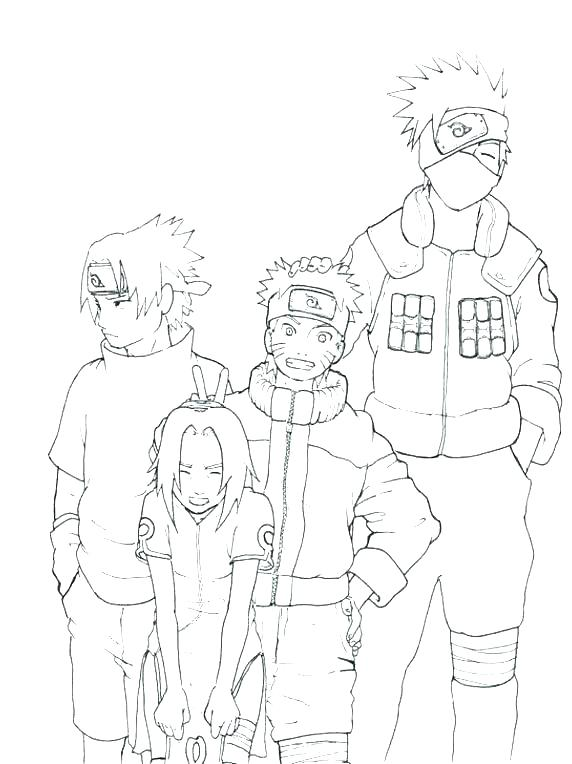 572x764 Kakashi Coloring Pages Coloring Pages And Coloring Pages Coloring