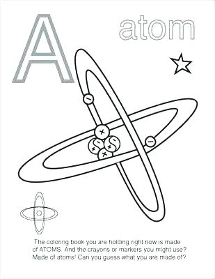 309x400 Chemistry Coloring Pages
