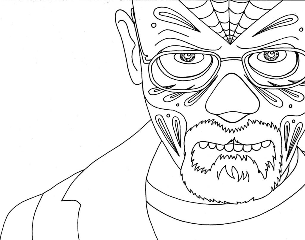 1024x808 Coloring The Periodic Table Elegant Breaking Bad Coloring Page