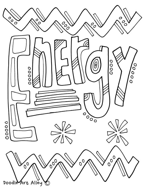 618x800 Energy Coloring Pages