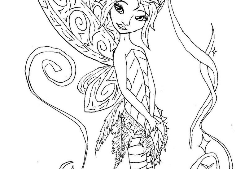 762x544 Amusing Story Of Disney Popular Characters Pixie Hollow Coloring