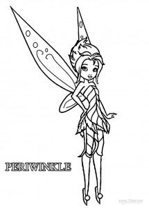 215x300 Printable Disney Fairies Coloring Pages For Kids