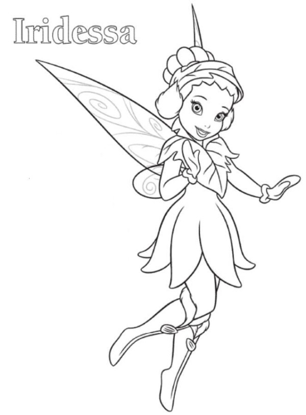 600x814 Tinkerbell And Periwinkle Coloring Pages Kids Colori On Coloring