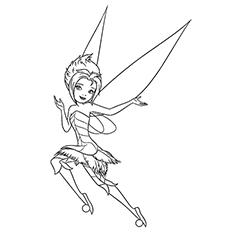 230x230 Top Free Printable Beautiful Fairy Coloring Pages Online