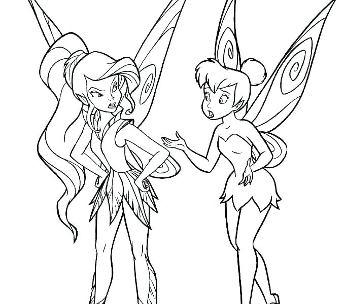 678x600 Disney Fairies Coloring Pages Coloring Fairy Coloring Pages