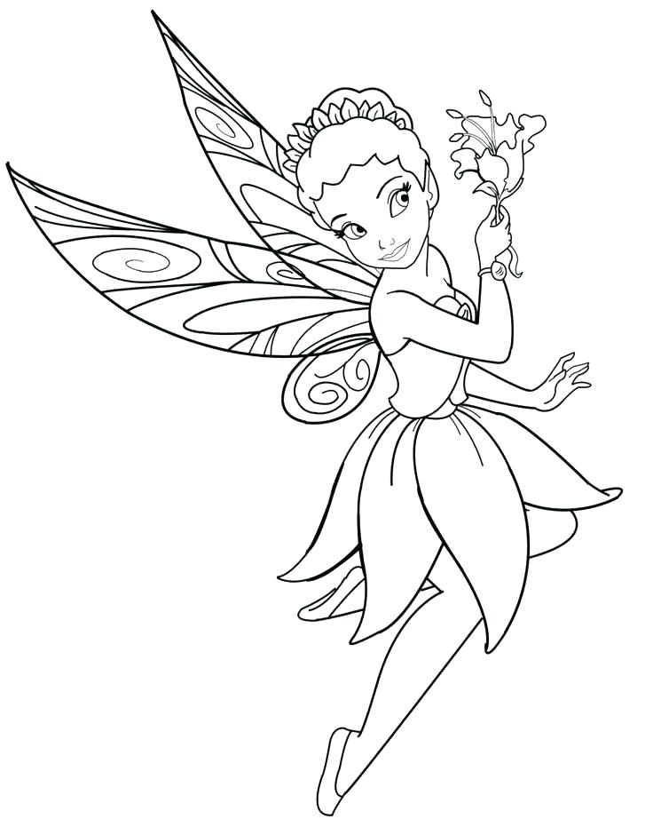 736x931 Disney Fairies Coloring Pages Princess Fairy Coloring Pages Fairy