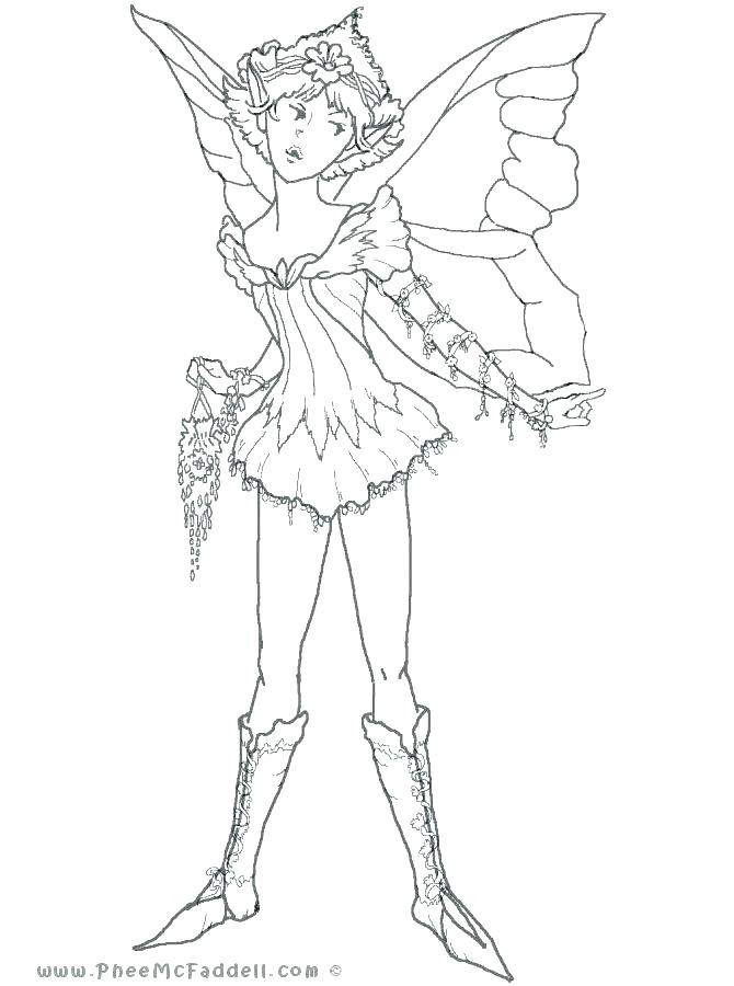 670x900 Free Fairy Coloring Pages Free Printable Intricate Fairy Coloring