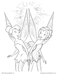 200x259 Tinker Bell And Periwinkle Coloring Page Cake Ideas For The Kids