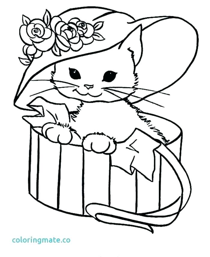 700x856 Persian Cat Coloring Pages Find Your Zen While Exposing Your