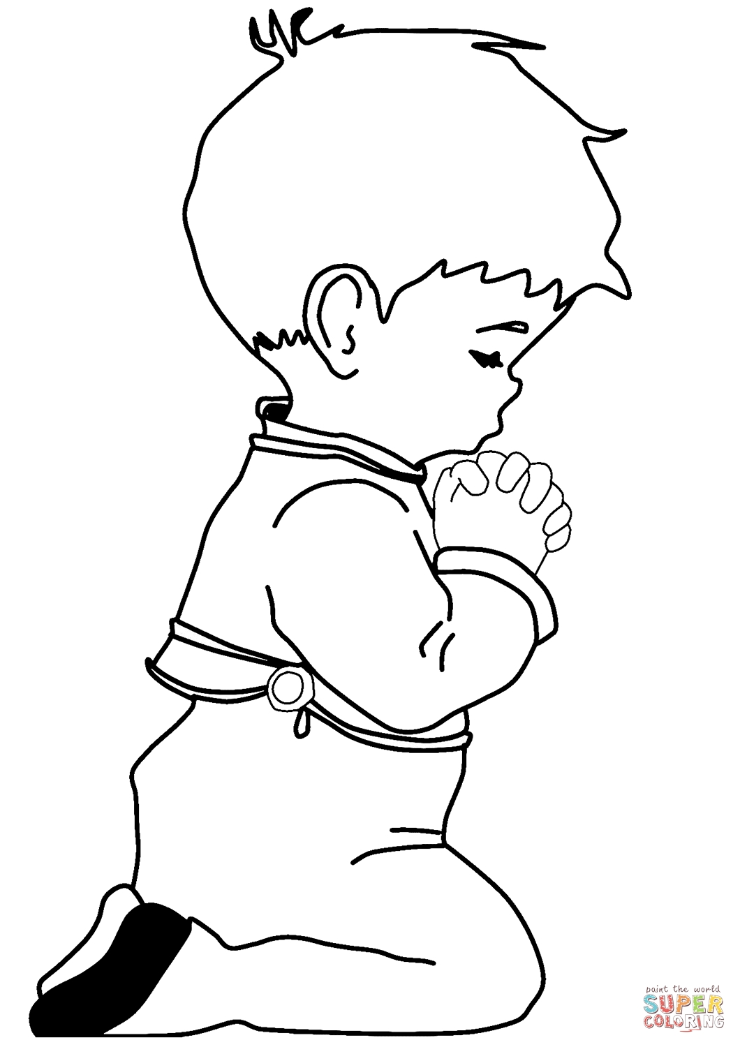 Person Coloring Page