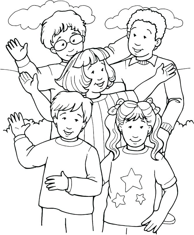 672x813 Person Outline Coloring Page Person Coloring Sheet Inspiring