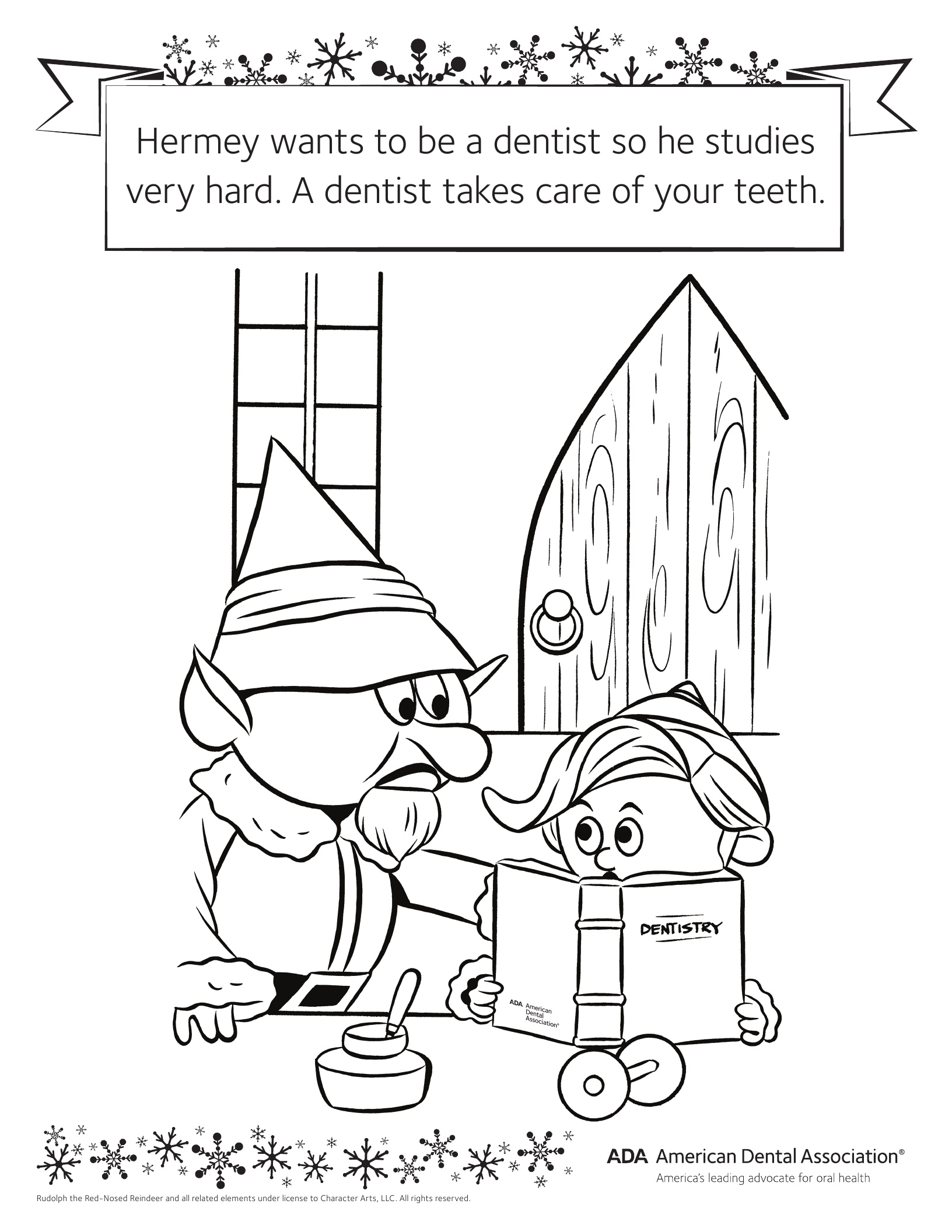 Personal Hygiene Coloring Pages