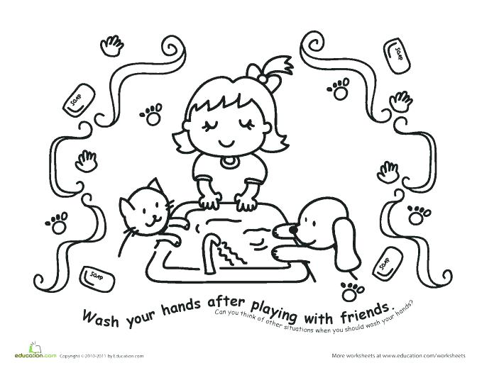 672x519 Handwashing Coloring Pages Education Coloring Pages Hand Washing