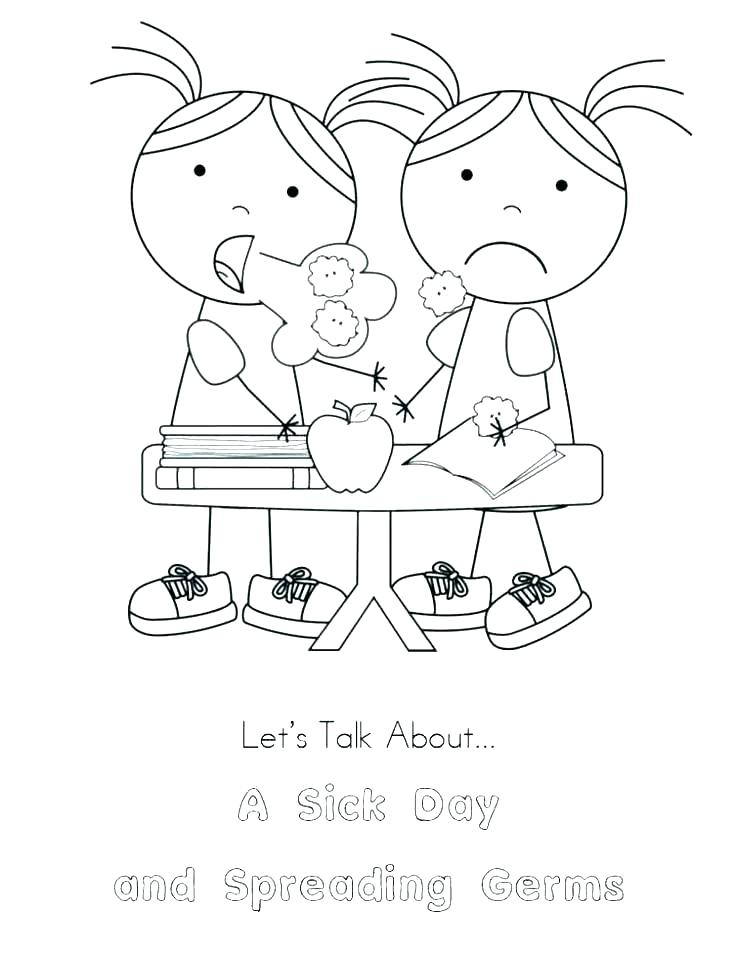 736x954 Washing Hands Coloring Page Coloring Pages Germ Coloring Pages