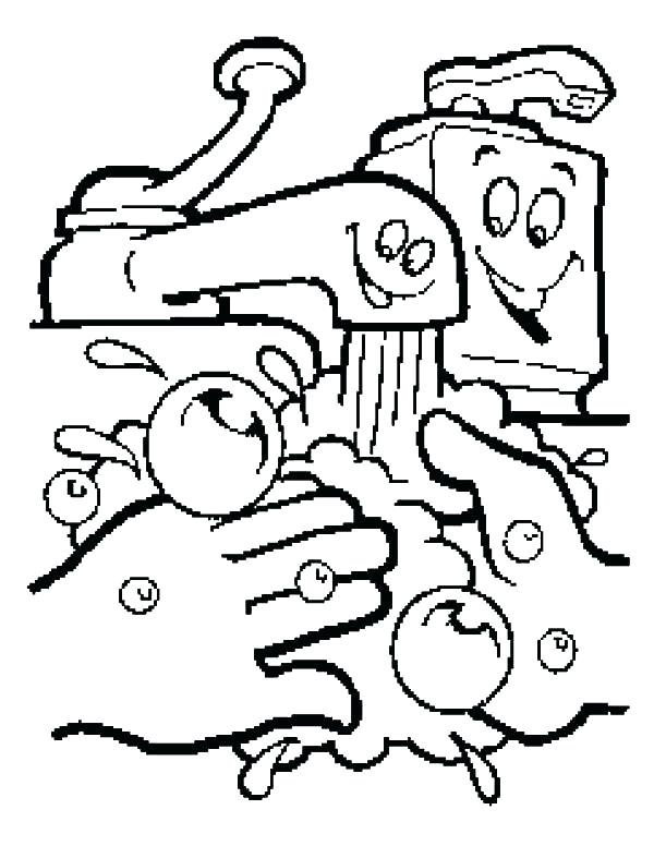 600x776 Dental Hygiene Coloring Pages Good Ene Coloring Sheets Coloring